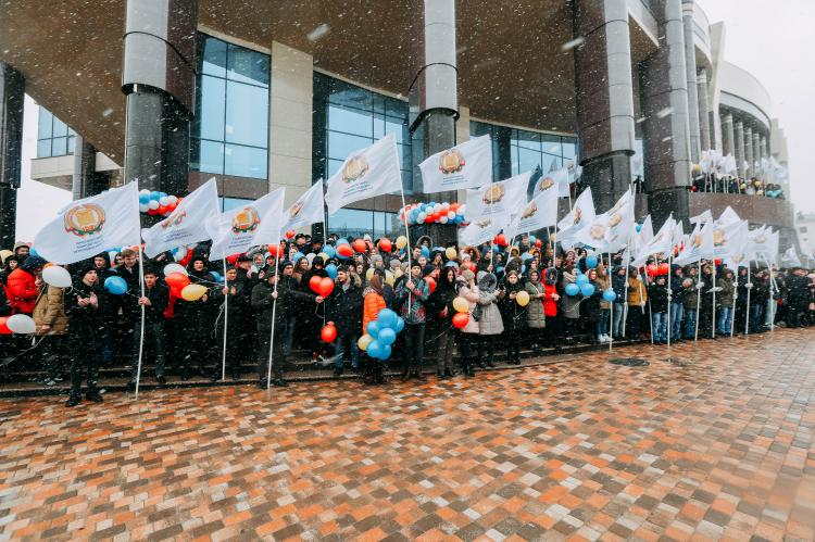 Solemn opening of Students' Avenue at Stavropol State Agrarian University
