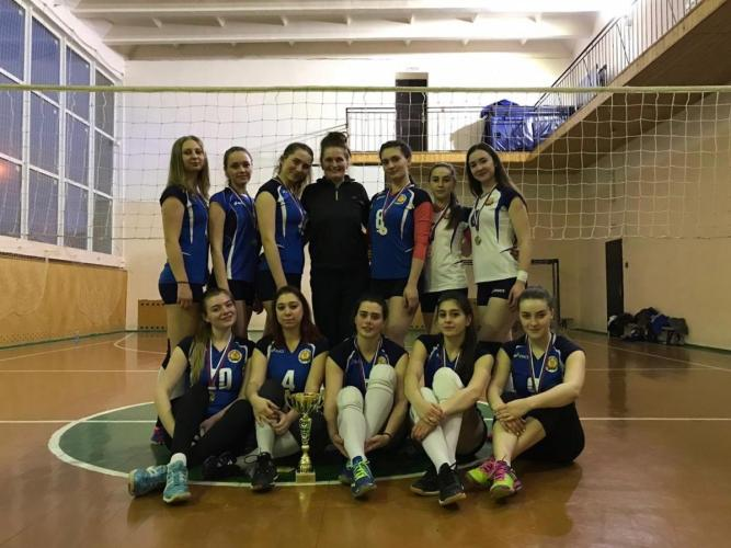Volleyball team of Stavropol State Agrarian University brought victory