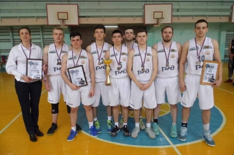 Combined team of Stavropol State Agrarian University in basketball became the winner of the SBA Championship